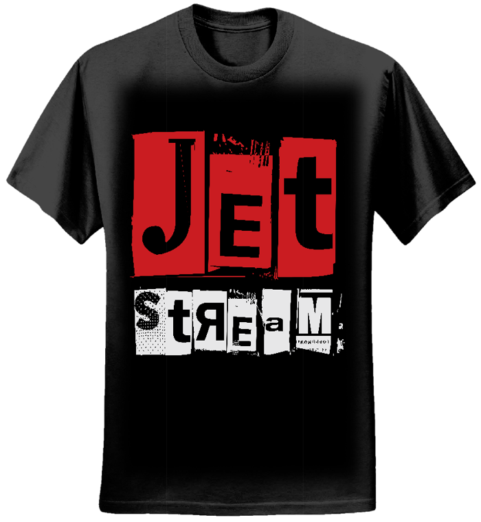 Mens - Jetstream Logo Tee (Black) - Jetstream