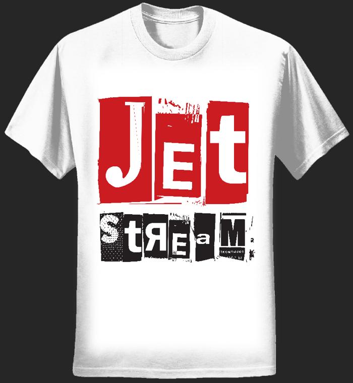 Mens - Jetstream Logo Tee (White) - Jetstream