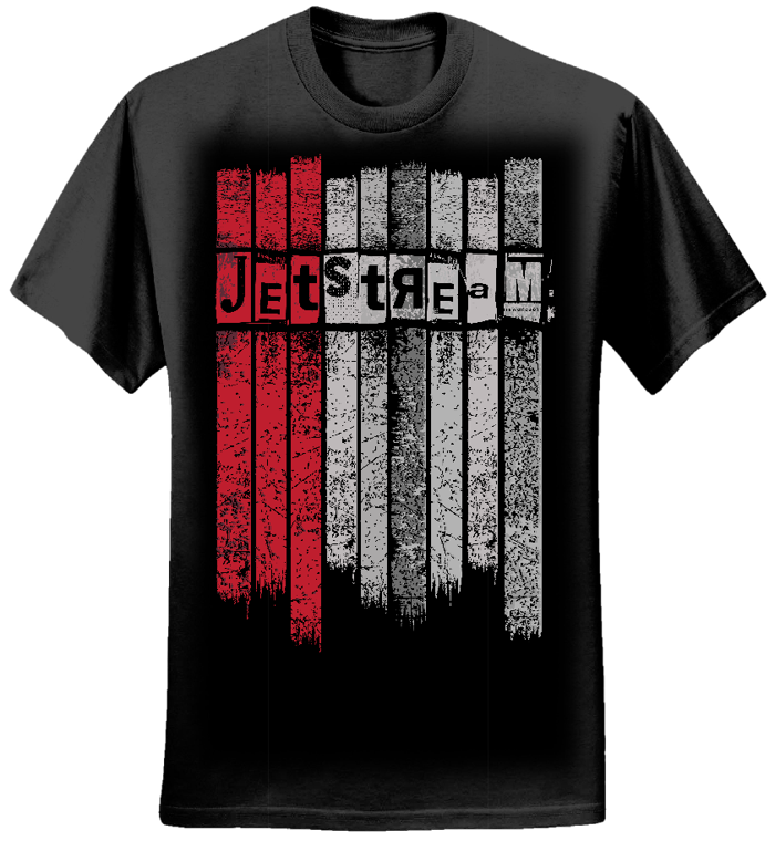 Mens - Jetstream Stripes Tee - Jetstream