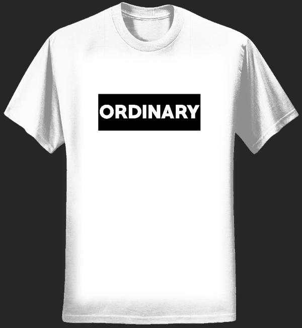 Ordinary Blank T-shirt - Joe Not Joseph