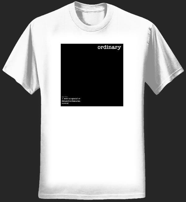 Ordinary Description T-shirt - Joe Not Joseph