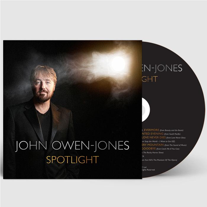 Spotlight (Signed CD) - John Owen-Jones