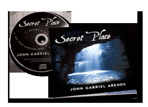 Secret Place - CD - John Gabriel Arends