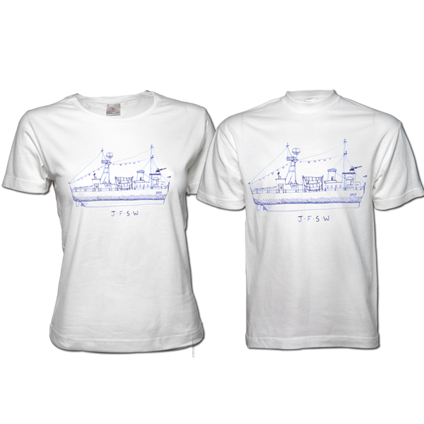 Boat - Flag T-Shirt - Johnny Flynn & The Sussex Wit (UK Merch)
