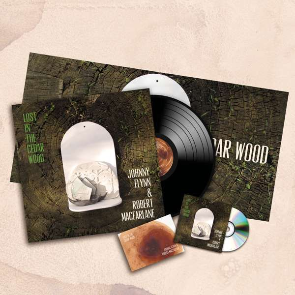 Johnny Flynn and Robert Macfarlane - Lost In The Cedar Wood (LP + CD + Signed Postcard) - Johnny Flynn & The Sussex Wit (UK Merch)