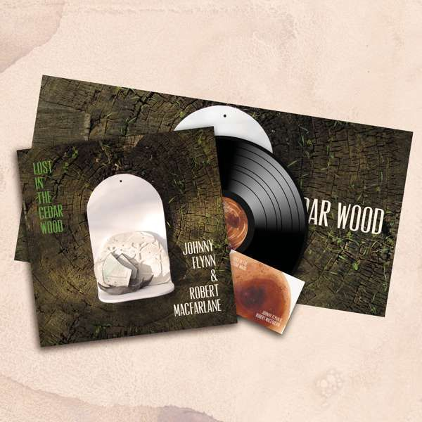 Johnny Flynn and Robert Macfarlane - Lost In The Cedar Wood (LP + Signed Postcard) - Johnny Flynn & The Sussex Wit (UK Merch)