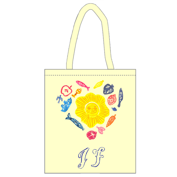 JF Heart Tote bag - Johnny Flynn & The Sussex Wit (USD)