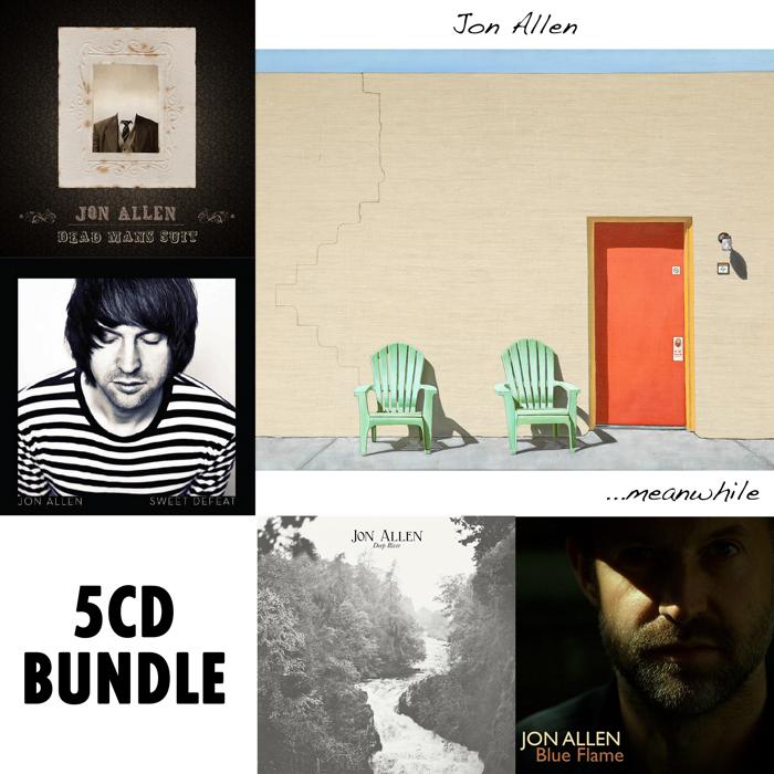 5x Album Bundle (CD) - Jon Allen
