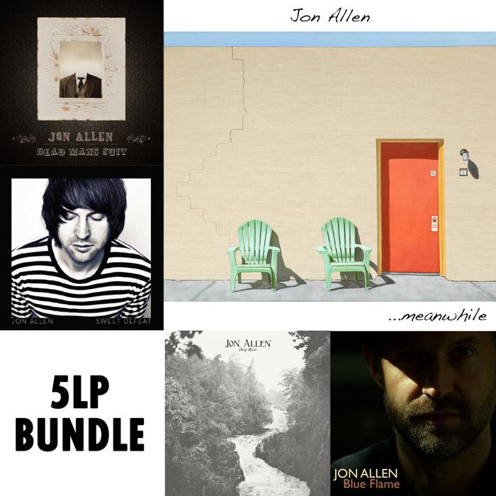 5x Album Bundle (LP) - Jon Allen