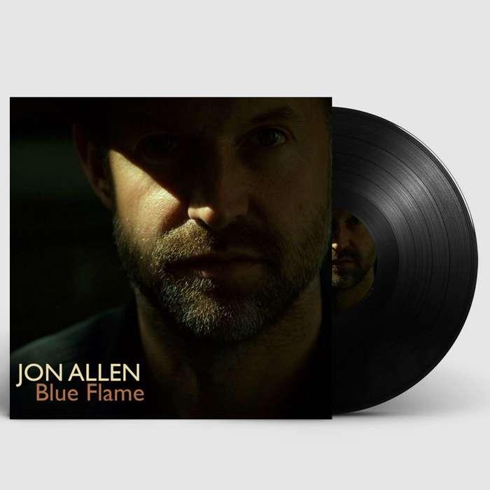 """Blue Flame (Signed 12"""" Vinyl) - Jon Allen"""