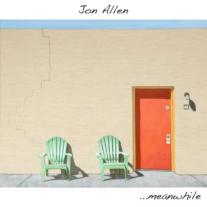 ...meanwhile (Signed CD) - Jon Allen
