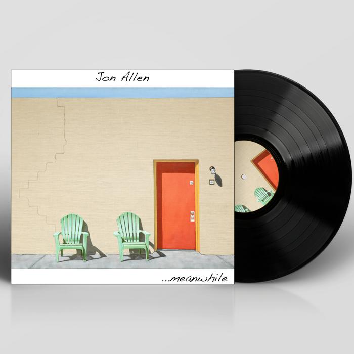 ...meanwhile (Signed LP) - Jon Allen