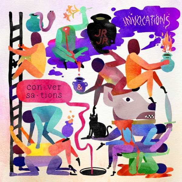 JR JR - INVOCATIONS / CONVERSATIONS (DOUBLE ALBUM) - CD - JR JR