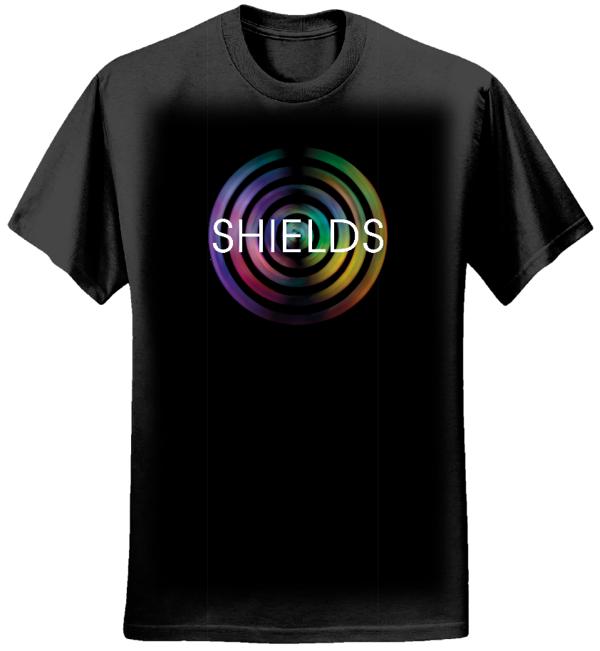 SHIELDS Logo T-Shirt (Female) - Kaleidoscope Music