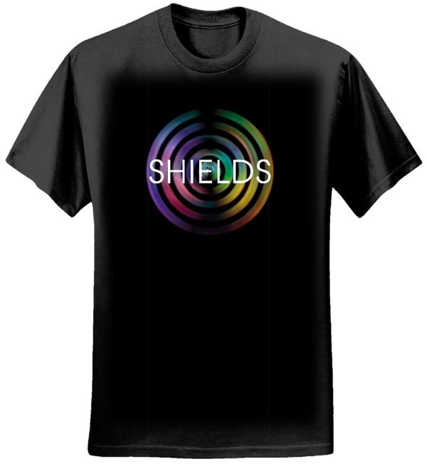 SHIELDS Logo T-Shirt (Male) - Kaleidoscope Music