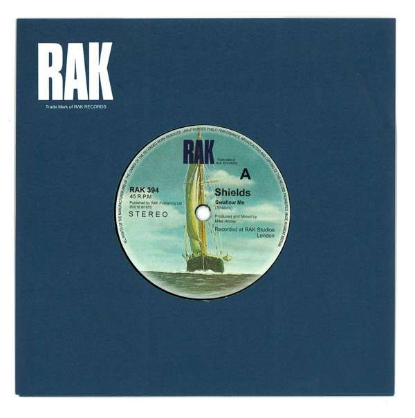 "SHIELDS RAK Singles Club 7"" Vinyl - Kaleidoscope Music"