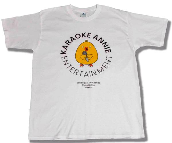 Karaoke Annie Entertainment Signature Logo Tee - Karaoke Annie Entertainment
