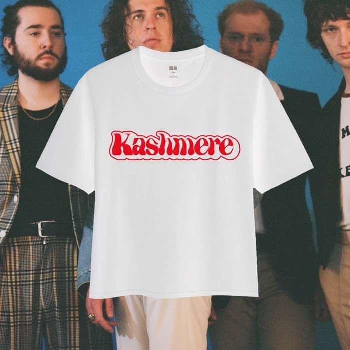KASHMERE White Logo Tee - KASHMERE