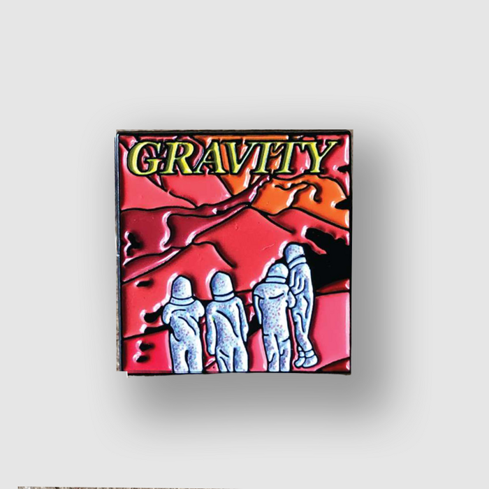 LIMITED EDITION GRAVITY ENAMEL PIN BADGE - KASHMERE