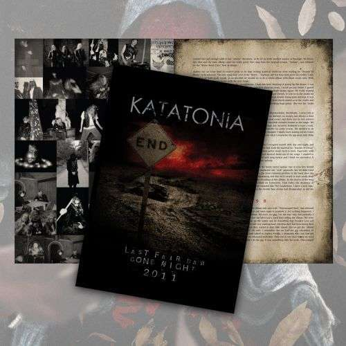 Katatonia - 20th Anniversary Tour Programme & Large Metal Tin - Katatonia