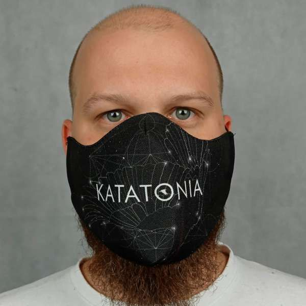Katatonia - 'Constellations' Face Mask - Katatonia
