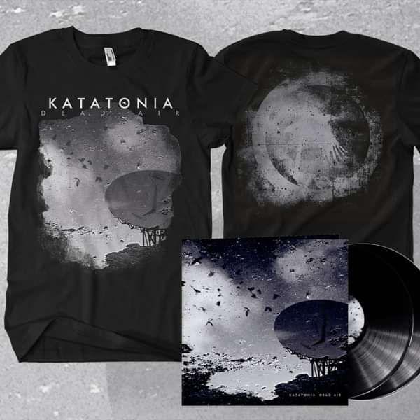 Katatonia - 'Dead Air' 2LP Black Vinyl + T-Shirt Bundle - Katatonia