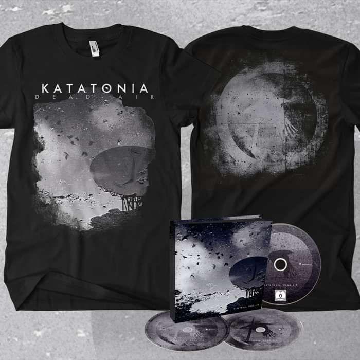 Katatonia - 'Dead Air' Ltd. Edition 2CD+DVD + T-Shirt Bundle - Katatonia