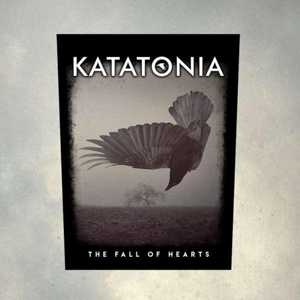 Katatonia - 'Fall of Hearts' Printed Back Patch - Katatonia