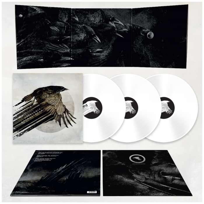 Katatonia - 'Mnemosynean' 3LP Limited Edition 140g White Vinyl + T-Shirt Bundle - Katatonia