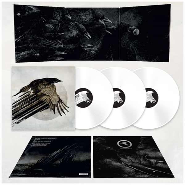 Katatonia - 'Mnemosynean' 3LP Limited Edition 140g White Vinyl - Katatonia
