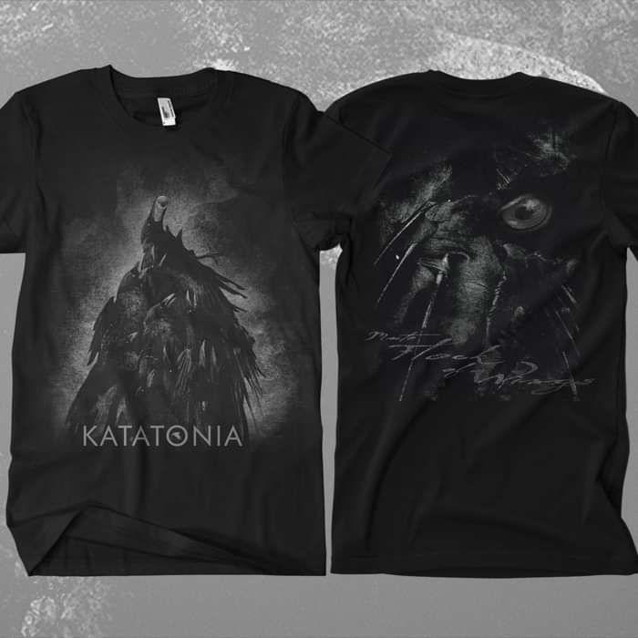 Katatonia - 'Mute Flock of Wings' T-Shirt - Katatonia
