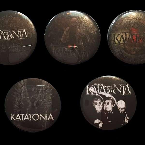 Katatonia - NITND Pin Badge Set - Katatonia