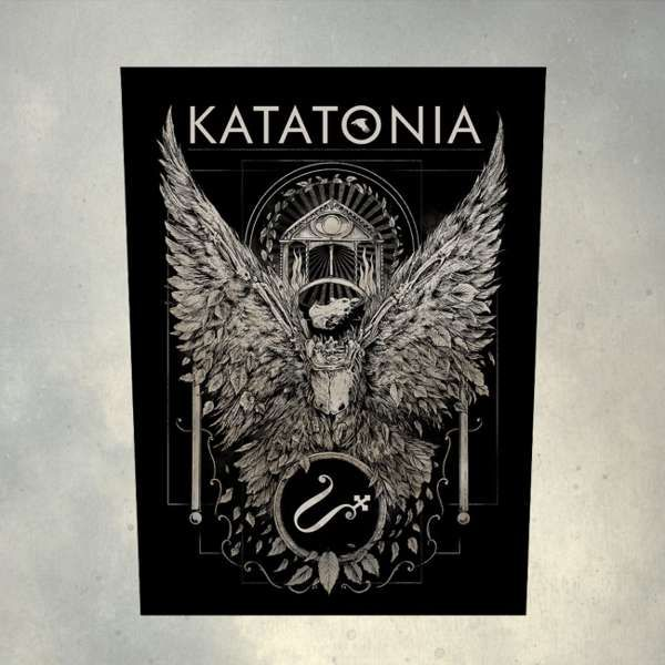 Katatonia - 'Temple' Printed Back Patch - Katatonia