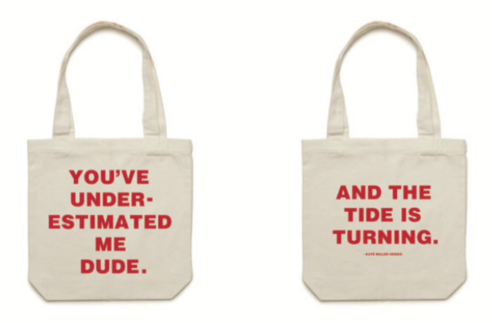You've Underestimated Me, Dude tote bag - Kate Miller-Heidke