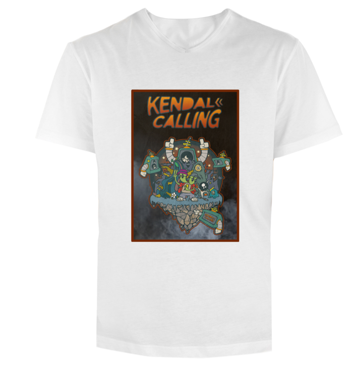 2018 Themed Kendal Calling Goes into the Future Movie Poster Tee! (FINAL REMAINING) - Kendal Calling