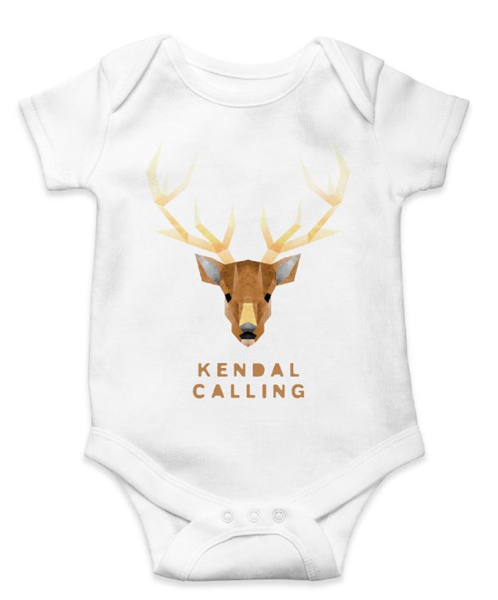 Children's Stag Babygrow - Kendal Calling