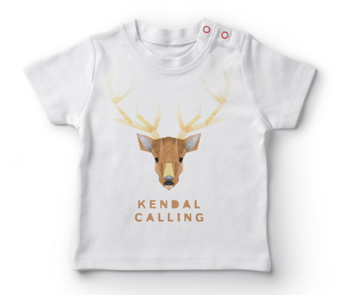 Children's Stag Tee - Kendal Calling