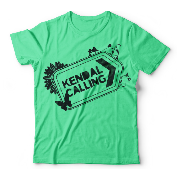 Kendal Calling 2018 Logo and Line Up Tee! (FINAL REMAINING) - Kendal Calling