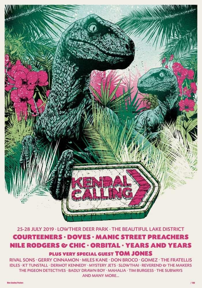 Kendal Calling 2019 Ltd Edition Screen Print - Kendal Calling