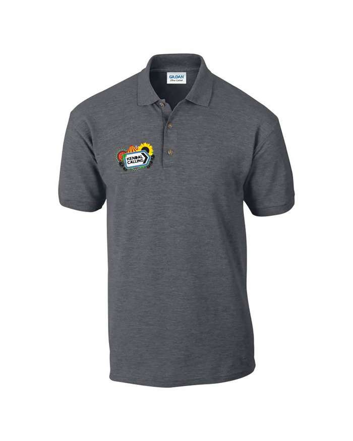 Premium Embroidered KC Polo - Kendal Calling