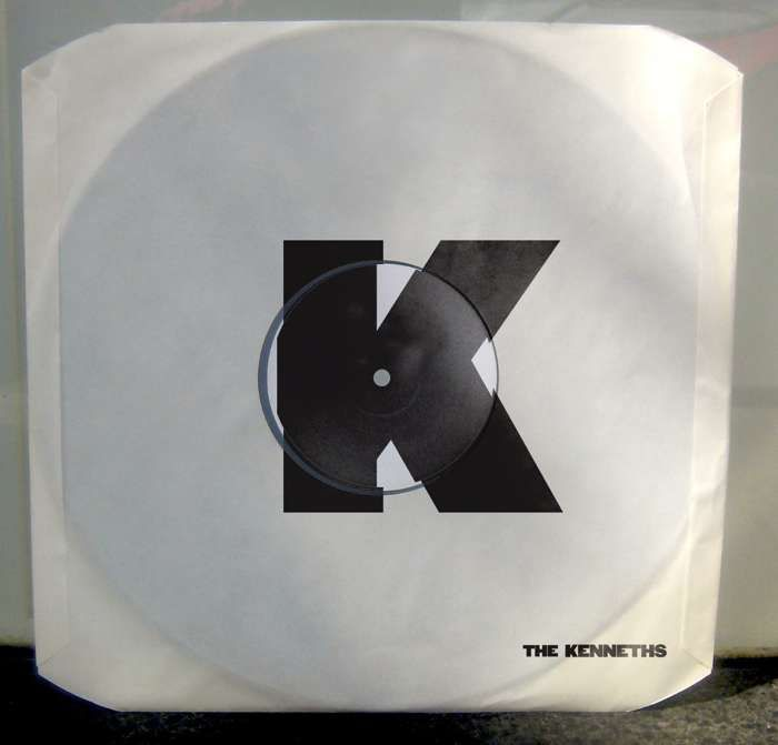 "'DOUBLE N' EP - LIMITED EDITION White Label 7"" Vinyl - The Kenneths"