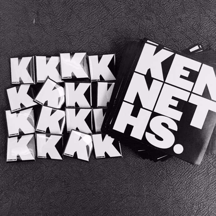 Sticker & A Badge - The Kenneths