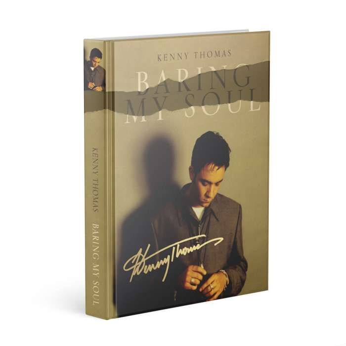 PRE-ORDER - 'Baring My Soul' (Limited 1st edition hardback - hand signed) - Kenny Thomas