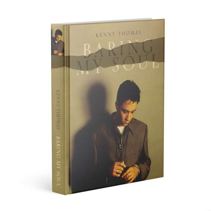 PRE-ORDER - 'Baring My Soul' (Limited 1st edition hardback) - Kenny Thomas