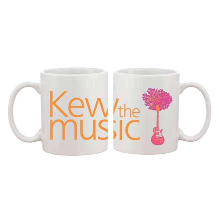 Kew The Music Mug - Kew The Music