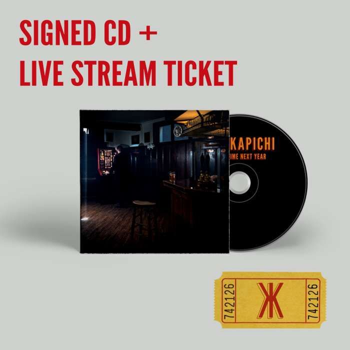 This Time Next Year 'Signed' CD plus Live Stream Ticket - Kid Kapichi