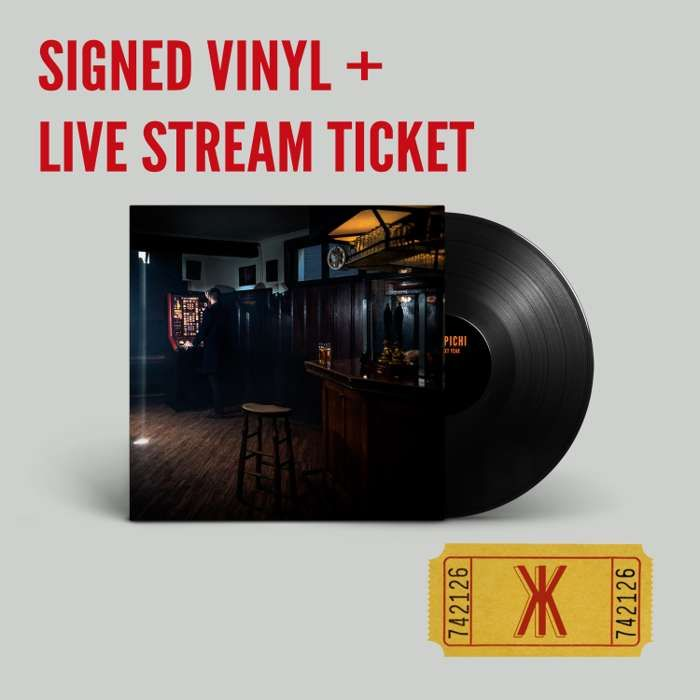 This Time Next Year 'Signed' Vinyl Album plus Live Stream Ticket - Kid Kapichi