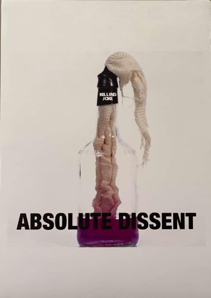 """Absolute Dissent"" print 45cm x 32cm - Killing Joke"