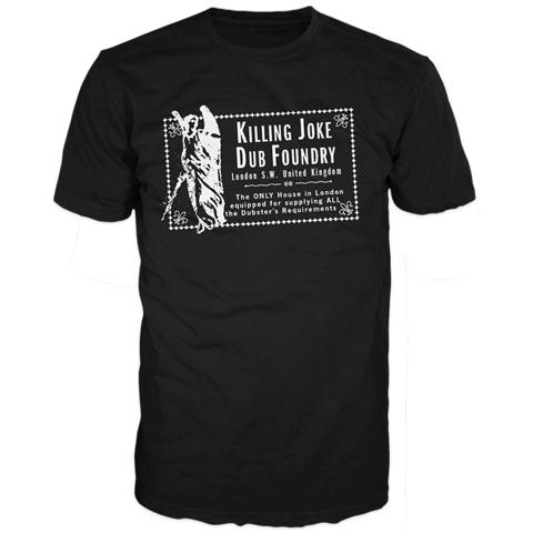 Dub Foundry Black T-Shirt - Killing Joke