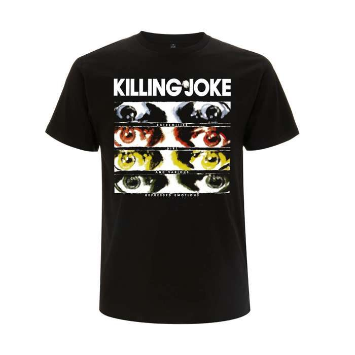 Extremities Black T-Shirt - Killing Joke